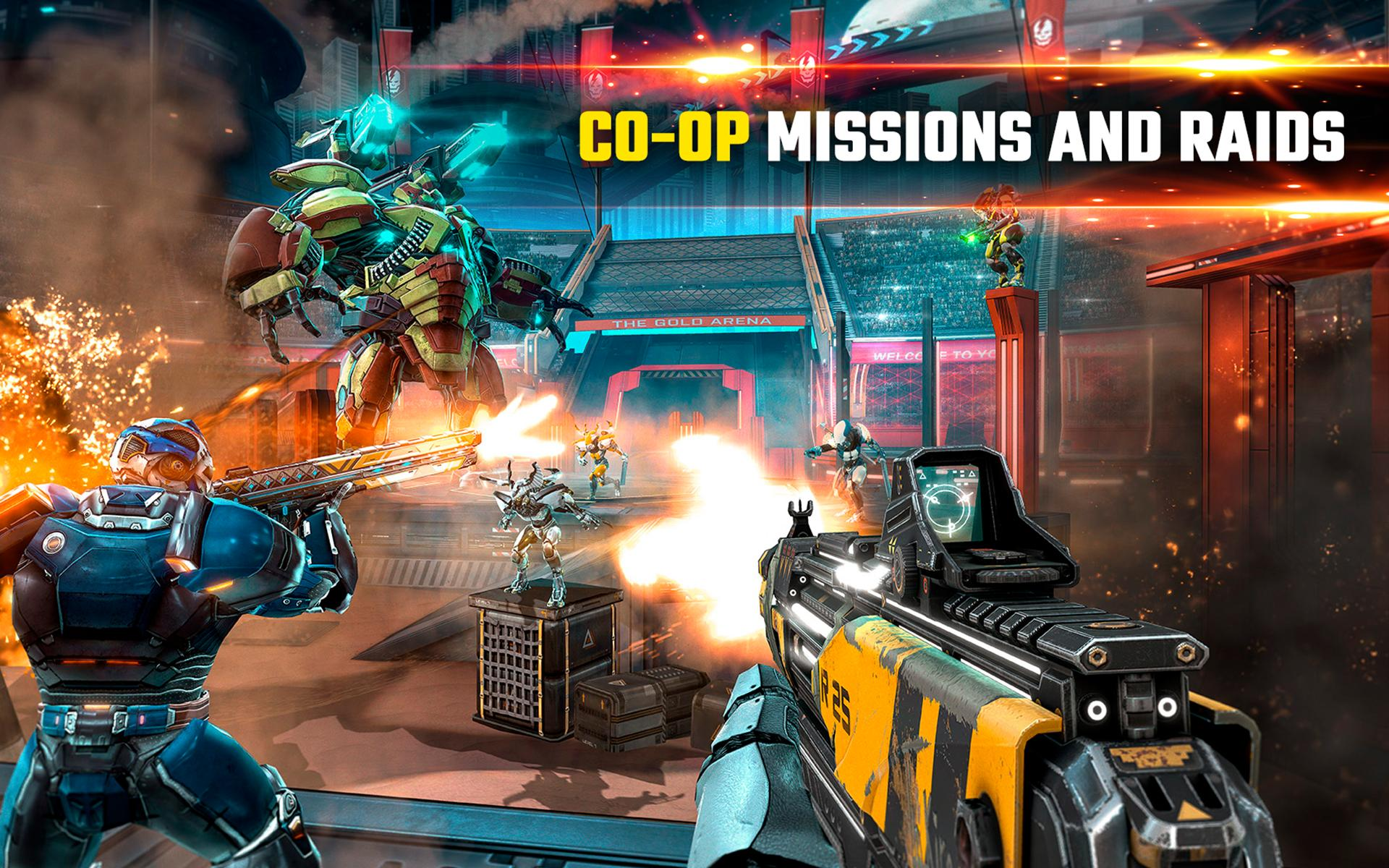 SHADOWGUN LEGENDS APK Download - Free Action GAME for Android ...