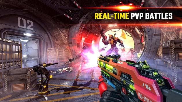 SHADOWGUN LEGENDS - FPS and PvP Multiplayer games screenshot 1
