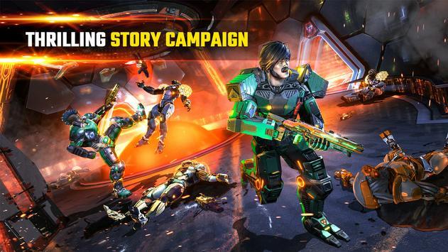 SHADOWGUN LEGENDS - FPS PvP Free Shooting Games screenshot 2