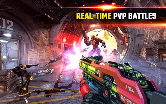 SHADOWGUN LEGENDS - PvP and Coop Shooting Games تصوير الشاشة 7