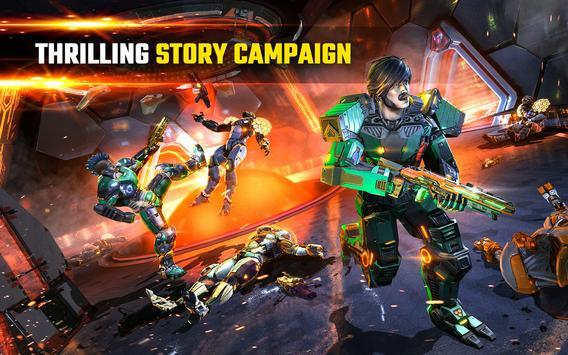SHADOWGUN LEGENDS - PvP and Coop Shooting Games تصوير الشاشة 8