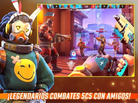 Shadowgun War Games -El mejor 5c5 FPS para móviles captura de pantalla 16