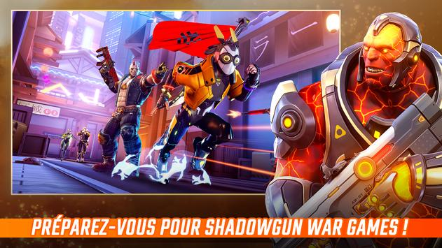 Shadowgun War Games -Le meilleur FPS mobile en 5v5 capture d'écran 1