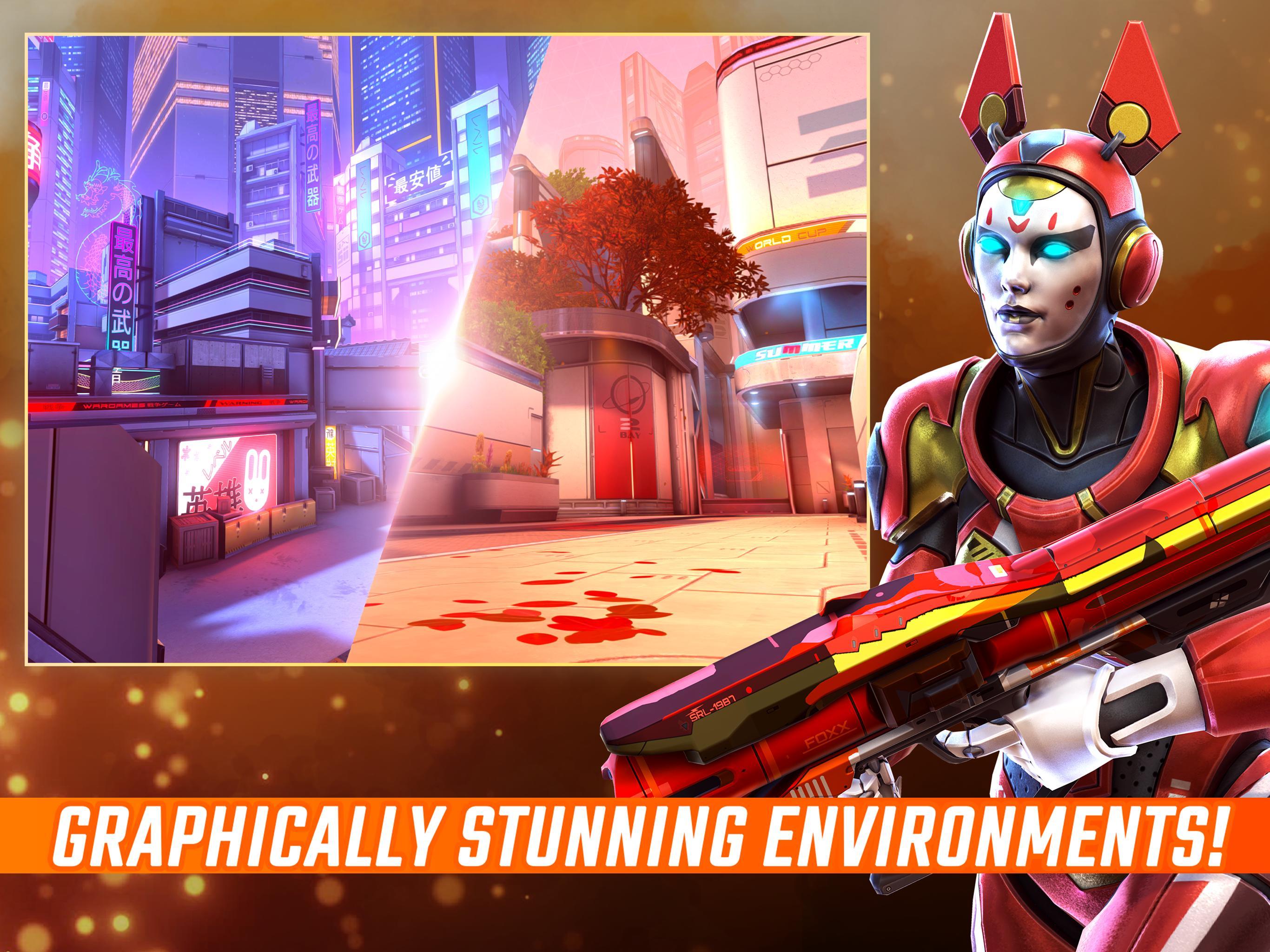 Shadowgun War Games - Online PvP FPS poster