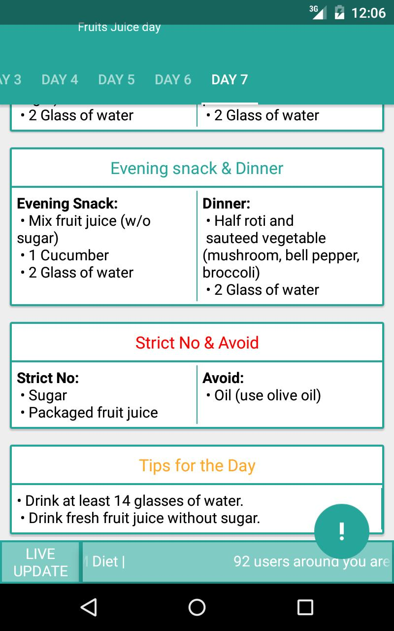 Indian weight loss GM Diet for Android - APK Download