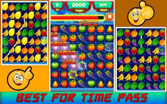 Sweet Fruits Bomb Splash king screenshot 3
