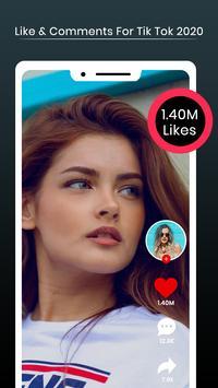 Likes & Followers for TikTok 2020 screenshot 1