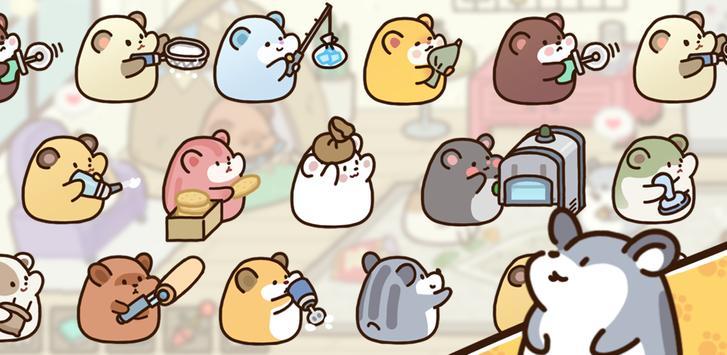 Hamster cookie factory - tycoon game screenshot 3
