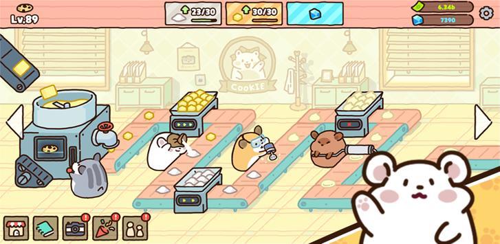 Hamster cookie factory - tycoon game screenshot 12