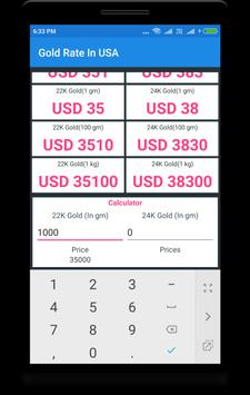 Today's Gold Rate In USA for Android - APK Download