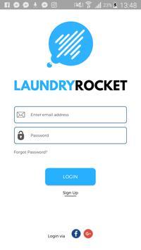 Laundry Rocket poster