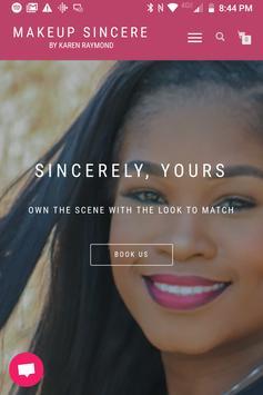 Makeup Sincere poster