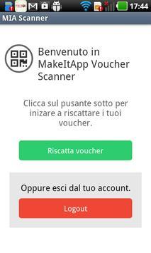 MakeItApp Voucher Scanner imagem de tela 2