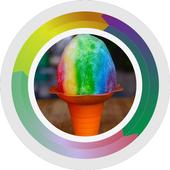 Make Ice Cream Rainbow icon