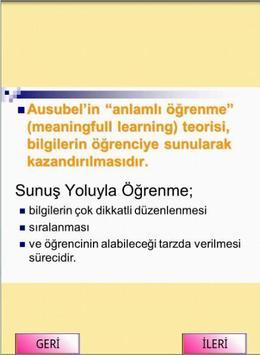 KPSS EĞİTİM BİLİMLERİ ÖĞRENME screenshot 1