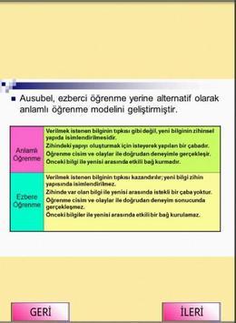 KPSS EĞİTİM BİLİMLERİ ÖĞRENME screenshot 2