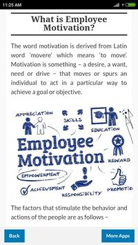 Learn Employee Motivation screenshot 1