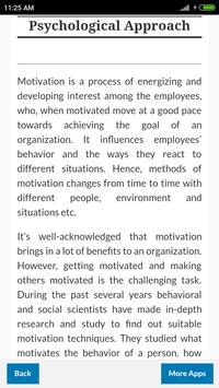 Learn Employee Motivation screenshot 2