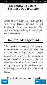 Guide for Tourism Management screenshot 2