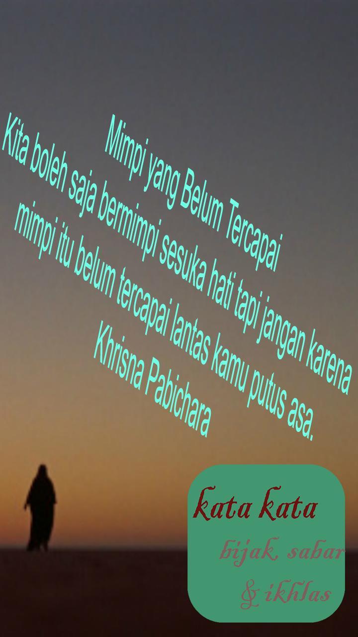 Kata Bijak Sabar Dan Ikhlas For Android Apk Download