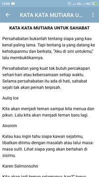 Kata Kata Mutiara Sahabat screenshot 4