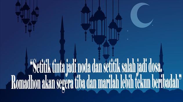 Kumpulan Kata Di Bulan Ramadhan poster