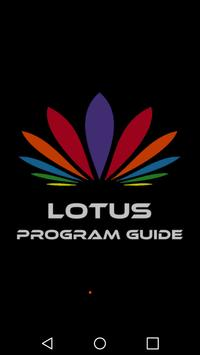 Lotus Program Guide poster