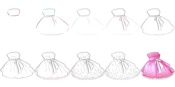Cómo Dibujar Vestido For Android Apk Download