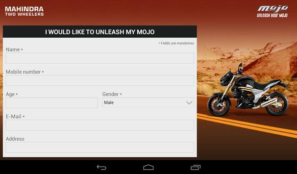 Mahindra Mojo Customisation screenshot 14
