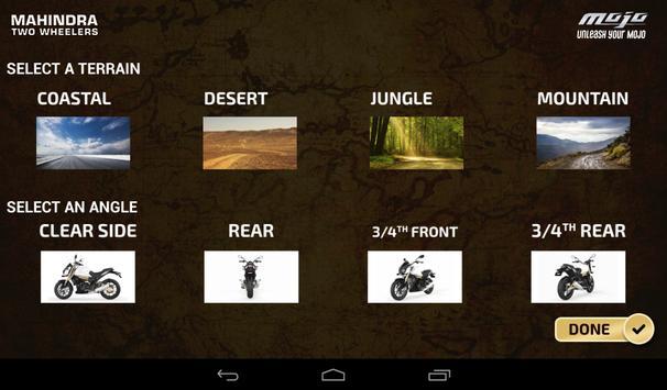 Mahindra Mojo Customisation screenshot 2