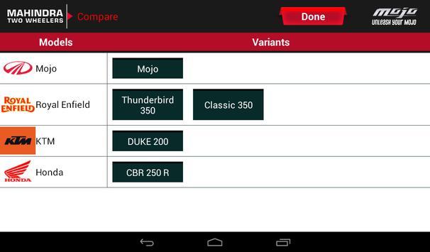 Mahindra Mojo Customisation screenshot 7