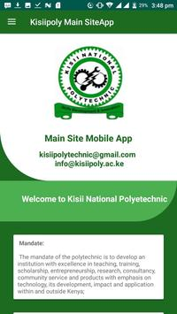 Kisiipoly Main Site App poster