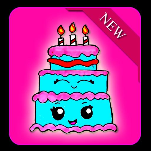 Enjoyable How To Draw A Cute Birthday Cake For Android Apk Download Funny Birthday Cards Online Elaedamsfinfo
