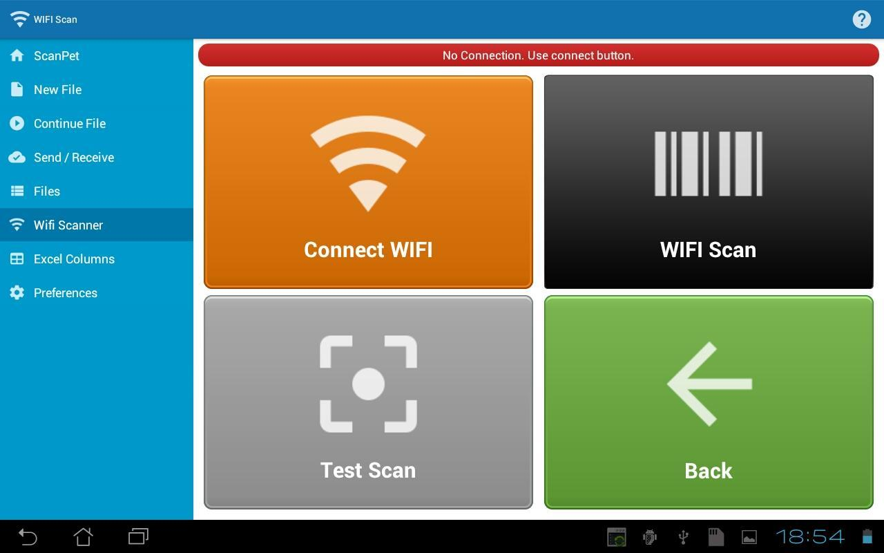Inventory & barcode scanner & WIFI scanner for Android - APK Download