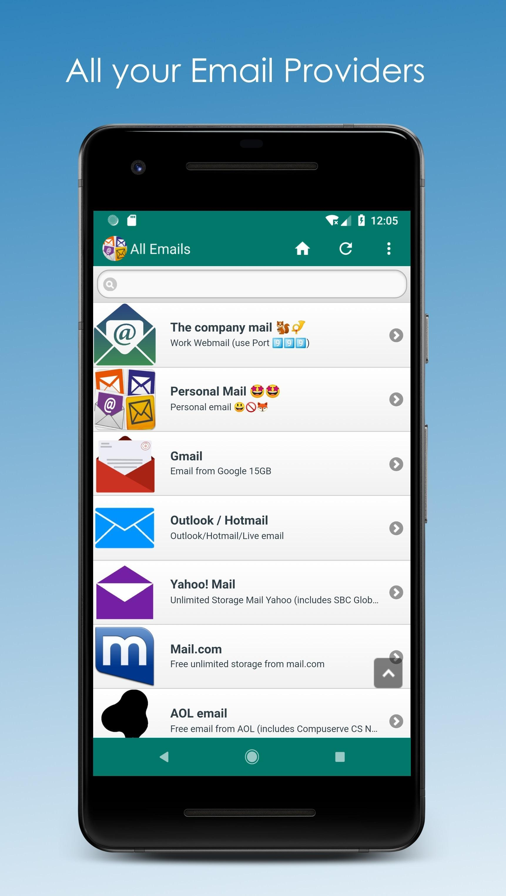 All Email Providers for Android - APK Download