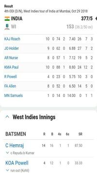 LIVE SCORE CRICKET REALTIME screenshot 3