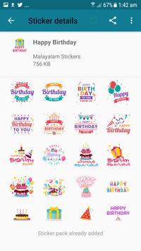 Malayalam Stickers screenshot 7