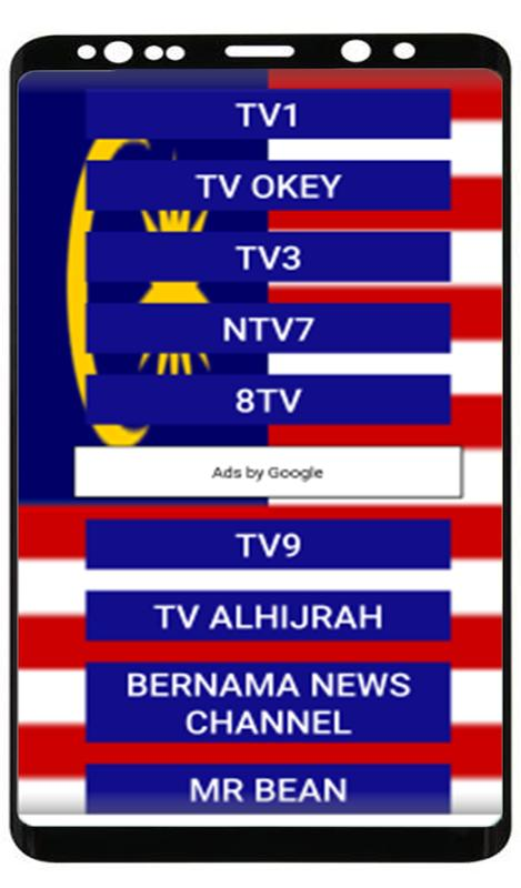 Malaysian TV- All Live Channels live streaming for Android