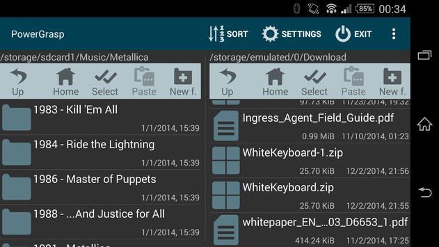 PowerGrasp screenshot 1