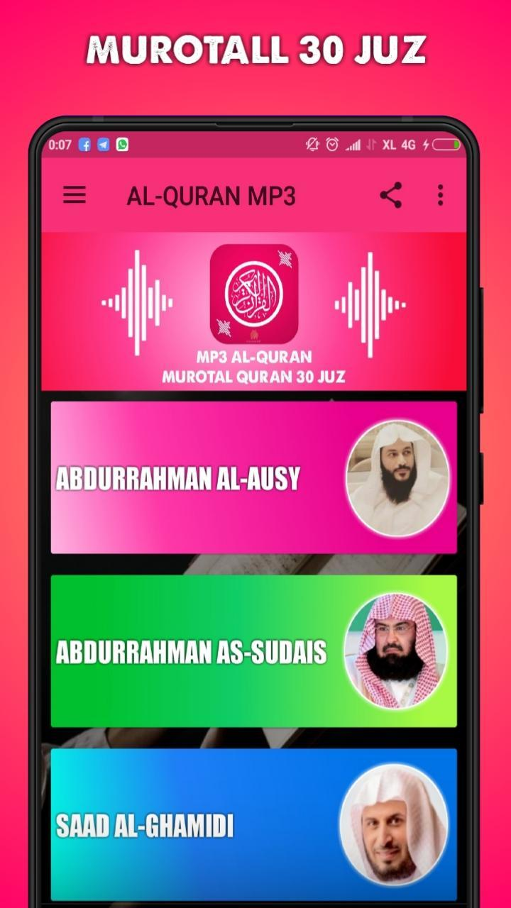 ALQURAN CHU - Mp3 Murottal Quran 30 Juz for Android - APK