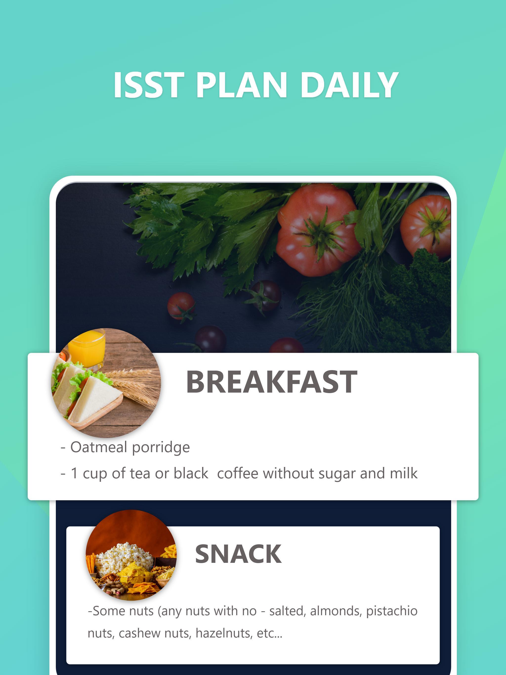 Diätplan und Übungen zum Abnehmen
