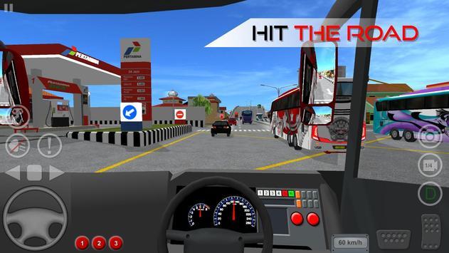 Bus Simulator Indonesia स्क्रीनशॉट 4