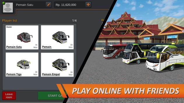 Bus Simulator Indonesia 截图 4