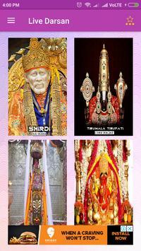 LiveDarshan(SaiBaba+SriBalaji+SidiVinayak+Mahakal) screenshot 7