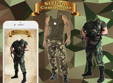 Commando Photo Suit Plus poster