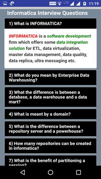 Informatica Interview Questions & Answers for Android - APK Download