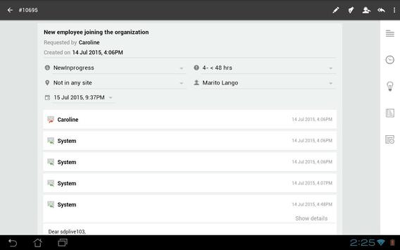 ServiceDesk Plus screenshot 18