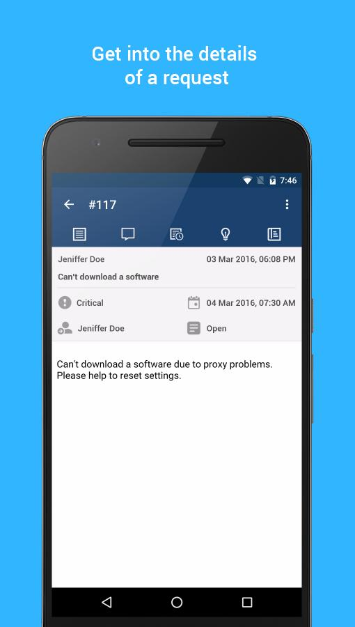 IT HelpDesk - ServiceDesk Plus for Android - APK Download