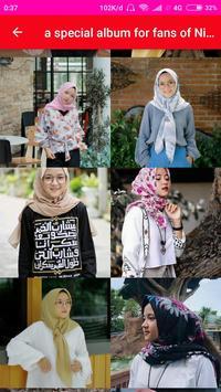 Nissa Sabyan Wallpaper poster