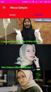Nissa Sabyan Wallpaper screenshot 4